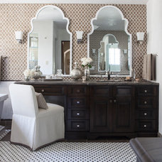 Transitional Bathroom by Facings of America, Inc