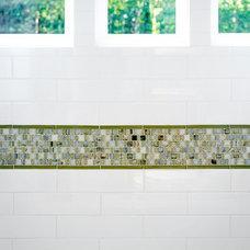 Transitional Bathroom by Facings of America, Inc