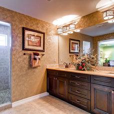 Traditional Bathroom by Oakwood Homes