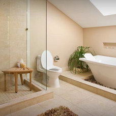 Contemporary Bathroom by Toned Homes Southwest A/C & Remodeling