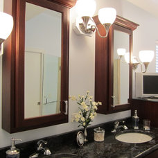 Traditional Bathroom by West Side Lumber/ACE/Kitchen & Bath Design Center