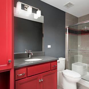 Bathroom in Custom Home - Columbia St, Naperville