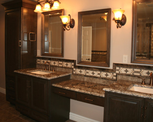 Bathroom In Framingham Ma Kraftmaid Cabinetry By Carole Kitchen