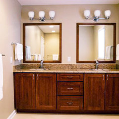 modern bathroom by Lensis Builders, Inc.