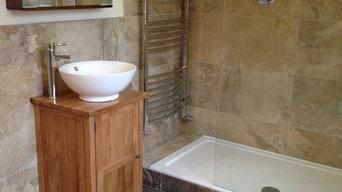 Bathroom install at Woodborough Village, Nottingham.