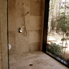 Traditional Bathroom by Young Brothers