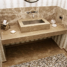 Mediterranean Bathroom by Young Brothers