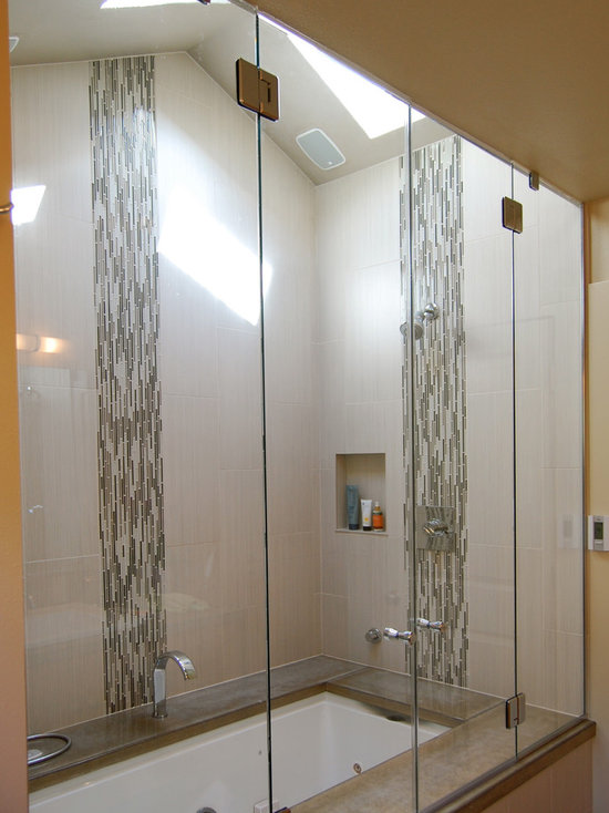 mosaic accent tile | houzz