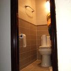 Tribeca Loft Modern Bathroom New York By Warren Red