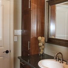 Contemporary Bathroom by Simply Trends Interiors Inc