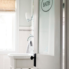 Traditional Bathroom by Jennifer - Rambling Renovators