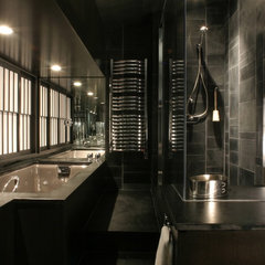 asian bathroom by Jetton Construction, Inc.