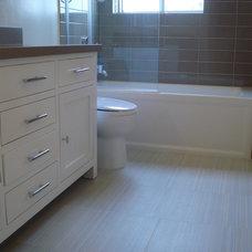 Contemporary Bathroom by Jill Seidner Interior Design