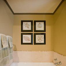 Traditional Bathroom by Jill Seidner Interior Design