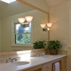 Eclectic Bathroom by Jochum Architects