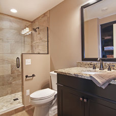 Traditional Bathroom by James Barton Design Build