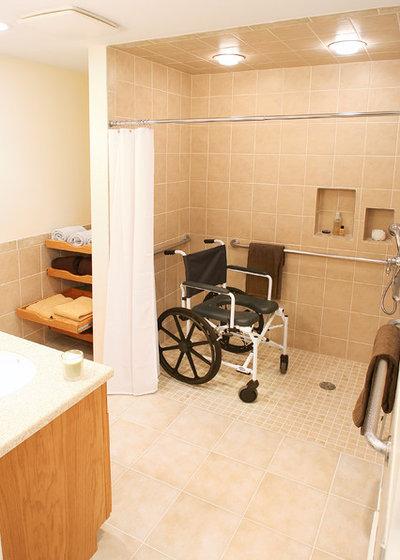 adapter la salle de bains une personne mobilit r duite. Black Bedroom Furniture Sets. Home Design Ideas