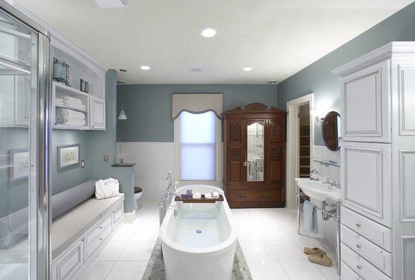 Traditional Bathroom by KannCept Design, Inc.