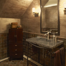 Contemporary Bathroom by Karlene Hunter Baum, Allied ASID