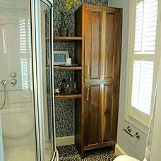 Contemporary Bathroom by KC Savage Interiors