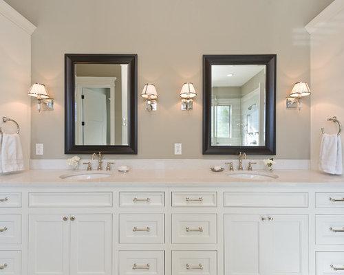 Master bath sconces houzz for Master bathroom sconces