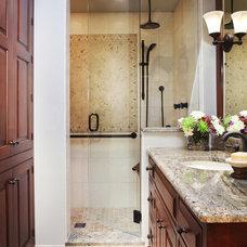 Traditional Bathroom by Kitchen Distributors