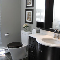 Contemporary Bathroom by Mark Luther Design