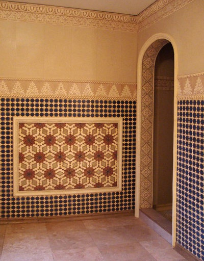 Mediterranean Bathroom by Filmore Clark