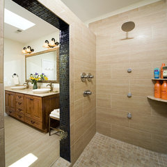 eclectic bathroom by Kleppinger Design Group, Inc.