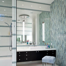 Contemporary Bathroom by KuDa Photography