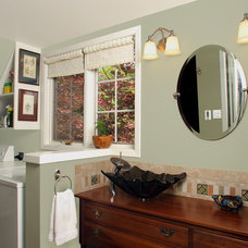 Eclectic Bathroom by Craftsmen Construction Inc.