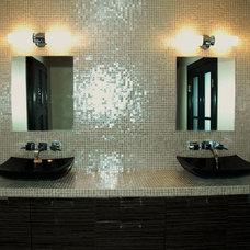 Modern Bathroom by LGS Designs,llc.