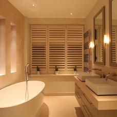 Contemporary Bathroom by John Cullen Lighting