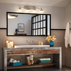 Industrial Bathroom by Kichler