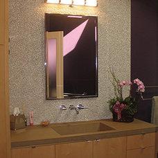 Contemporary Bathroom by Lila Levinson