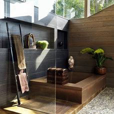 Contemporary Bathroom by Livingstone Concrete Studio