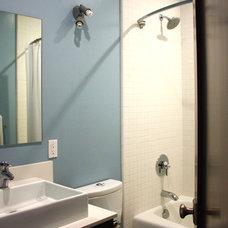 Contemporary Bathroom by Lynn Malone