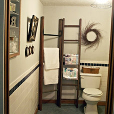 Eclectic Bathroom Bathroom madeover on $0!