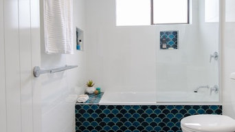 Bathroom makeover, Moroccan style