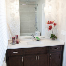 Contemporary Bathroom by micheal lambie interiors