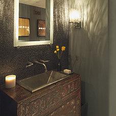 Eclectic Bathroom by Malgosia Migdal, ASID, CID