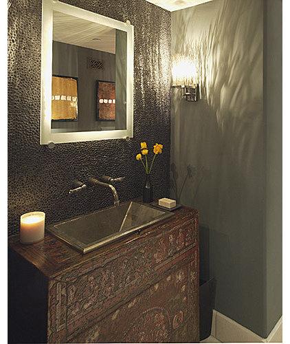 Eclectic Bathroom by Malgosia Migdal, ASID