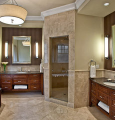 modern bathroom by Marcel Page Photography