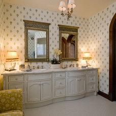 Traditional Bathroom by Marie Meko, Allied ASID