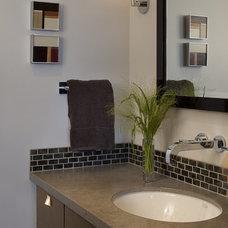 Contemporary Bathroom by Mark Newman Design