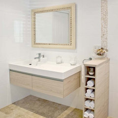 contemporary bathroom by Matilda Rose Interiors