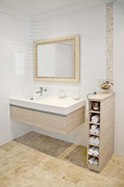 Contemporary Bathroom by Matilda Rose Interiors