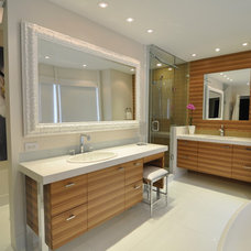 Contemporary Bathroom by SplashworksKB