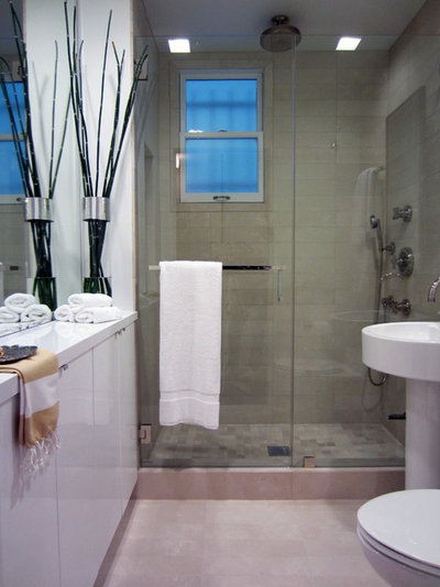 Contemporary Bathroom by Michael Goodsmith Design