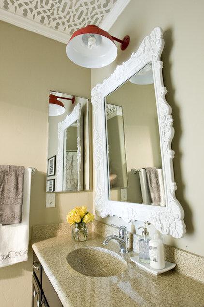 Eclectic Bathroom by Michelle Hinckley